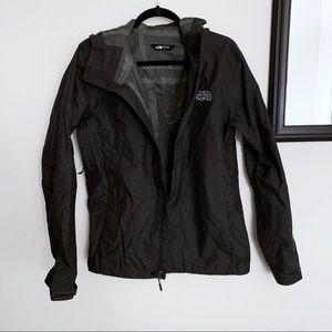 NORTH FACE/ Black windbreaker rain  jacket